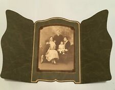 Vintage sepia Portrait Photo Boston Family Ancestors 1920s