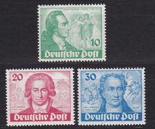 Johann Wolfgang von Goethe - kompletter Satz Mi.Nr. 61 - 63 TOP ERHALTUNG