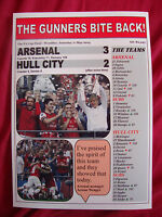 Arsenal 3 Hull City 2 - 2014 FA Cup final - souvenir print