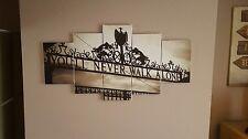 liverpool fc, you'll  never  walk alone canvas art