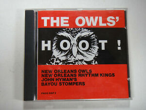 THE OWLS`HOOT ! - NEW ORLEANS OWLS   -  FROG DGF 2 - JAZZ CD