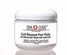 50% Glycolic Cell Renewal Peel Pads, Salicylic Acid, Lactic Acid, Argireline.