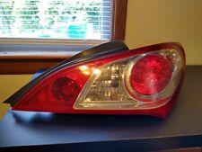 2009 2010 2011 2012 Hyundai Genesis Coupe Tail Light  Right RH Passenger OEM Cpe