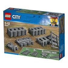 LEGO CITY 60205 SCHIENEN 8 GERADE 4 KURVEN 8 FLEXIBLE NEU OVP EISENBAHN ZUBEHÖR