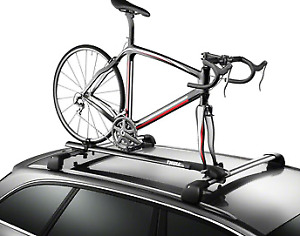Thule 526XT Circuit Roof Rack Fork Mount Bike Carrier: 1-Bike
