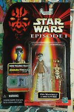 1998 Star Wars Episode One Action Figure Ody Mandrell with Otoga Pit Droid