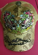 Don Ed Hardy by Christian Audigier Trucker Mesh Snapback Hat New With Tags