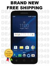 Alcatel - CAMEOX 4G LTE 16GB Prepaid Smartphone Cell Phone - Arctic White (AT&T)