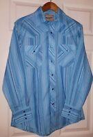 WRANGLER Western Shirt Medium  (blue)