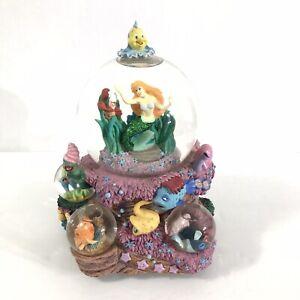 "Disney The Little Mermaid Ariel ""Under The Sea""Musical Multi Snow Globe"