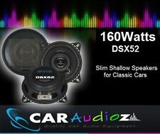 CRUNCH DSX52 160WATTS 5'' 13CM SLIM SHALLOW SPEAKERS FOR CLASSIC CARS