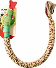 Mammoth Snake Biter with Squeaky Head Dog Toy (Assorted Colors)
