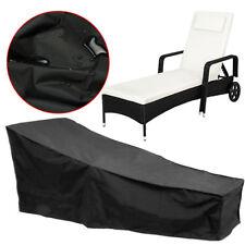 Waterproof Garden Rattan Bed Sunbed Sun Lounger Dust Rain Furniture Cover Chair