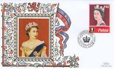 (19374) Palau Benham Cover Queen Golden Jubilee anniversary 2007
