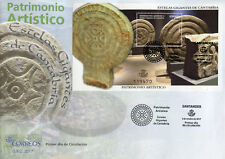 Spain 2017 FDC Estelas Gigantes de Cantabria Art Heritage 1v M/S Cover Stamps