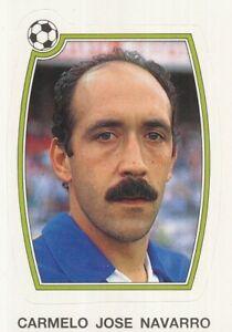 074 CARMELO JOSE NAVARRO ⚽ ESPANA CADIZ.CF STICKER PANINI FUTBOL 92-93