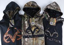 Realtree Buckhorn River Fleece Lined Xtra Hoodie NWT Antler Camo Hooded Sweater