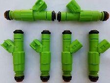 Bosch Upgrade 4 Hole Jeep Cherokee 1999+ 4.0L Fuel Injector Set 6 21LB EV6