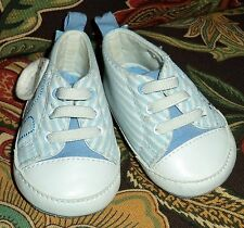 Blue & White Striped High Top Shoes for Baby 3-6 M The Children's  Place