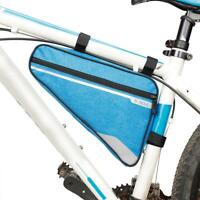 Bicycle Bike Frame Front Tube Triangle Bag Pipe MTB Mountain Bike Pouch Carrier