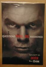 DEXTER HOMELAND Showtime TV Show Large Fold Out Original Print Ad Advertising