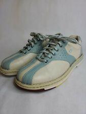 Dexter SST5 Bowling Shoes Size 8M Mens Blue White Retro Cool Goodyear B986-8LH