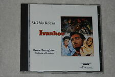 IVANHOE : Original Soundtrack by Bruce Broughton (CD, 1994, Intrada)
