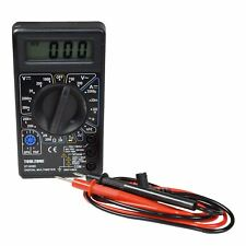 MULTIMETRO Digitale Tester Della Batteria Tensione AC e DC Corrente Tester LCD DISPLAY