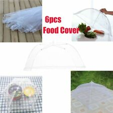 6 Pack Food Umbrella Cover Fly Mosquito Mesh Screen Net for Picnic BBQ Kitchen
