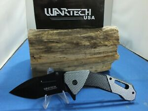 """Wartech YC-S-7017-GY Spring Assisted Pocket Knife 8.25"""""""