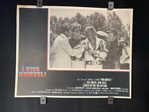 1977 EVEL KNIEVEL GENE KELLY Viva Knievel  Original Mexican Lobby Card Art 16x12