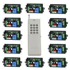AC 220V Remote Control Switch System 12CH Long Range Transmitter + 1CH Receiver
