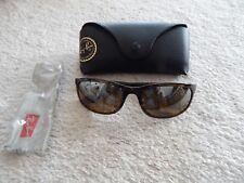 NEW Ray-Ban Chromance Tortoise Sunglasses  NIB RB4265 Polarized Brown Mirror
