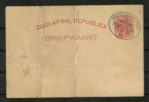 South Africa ZUID-AFRIKA. REPUBLIEK Postal Stationery 1p Rose Carmine #4715