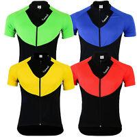 Didoo Men's Half Sleeves Cycling Shirts Bike Jerseys Racing Sports Summer Tops