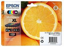 GENUINE Epson 33XL Premium 5 MultiPack Ink Cartridge XP-530 XP-635 XP635 XP 830