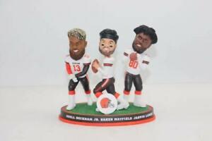 Baker Mayfield Odell Beckham Jarvis Landry Cleveland Browns Triple  Bobblehead