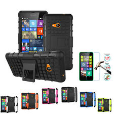 Hybrid Rugged Armor Hard Rubber Case Cover Shockproof Protector For Nokia Phones