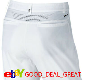 Tiger Woods TW Adaptive Fit Golf Pants 726220-100 $130 Size 34x32