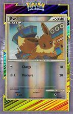 🌈Evoli Reverse - HS04:Indomptable - 47/90 - Carte Pokemon Neuve Française