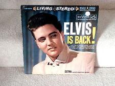 ELVIS PRESLEY~ELVIS IS BACK~~LIVING STEREO~GIRL NEXT DOOR WENT A'WALKIG ~ LP