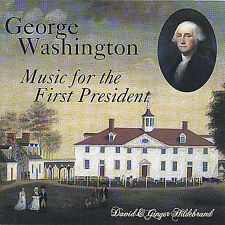 George Washington: Music for the First President by David Hildebrand CD New