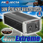 PROJECTA IP150 12V TO 240V 150WATT PURE SINE WAVE POWER INVERTER 12 VOLT LAPTOP