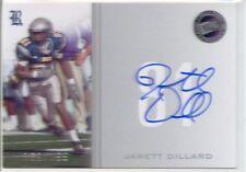 jarett dillard rookie rc auto autograph rice owls college #/199