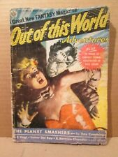 Out of This World Adventures 1 Sci-Fi Pulp & Avon Comic Bound-In GGA 1950 Kubert