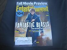 Fantastic Beasts Featured Cover Entertainment Weekly  08-19-16