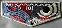 MERGED MIKANAKAWA OA LODGE 101 CIRCLE TEN PATCH 56 NOAC 2002 SMY DELEGATE FLAP