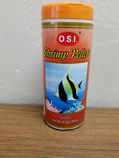 Osi Shrimp Pellets Sinking Tropical Food 8.5oz