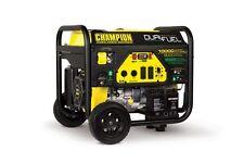 100297 - 8000/10,000w Champion Dual Fuel Portable Generator - REFURBISHED