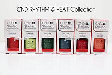 CND Shellac UV LED Gel Nail Polish RHYTHM & HEAT Collection 7.3ml .25oz Pick ANY